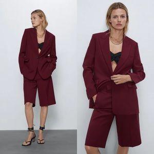 NWT Zara Longline Blazer Jacket